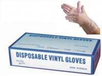 Salon Vinyl Gloves (Medium) 50 PCS/ Gloves