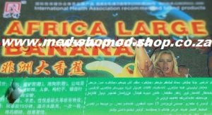 African Large Banana – Super Strong Male Erection Capsule