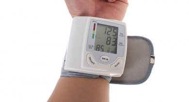 "1.7"" LCD Automatic Wrist Watch Blood Pressure Monitor"