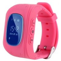 Kid Safe GPS Watch Wristwatch SOS Call Location Finder -Pink