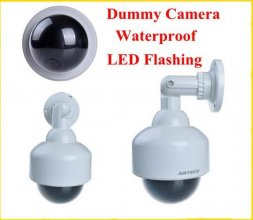 Waterproof Surveillance Fake CCTV Security Camera