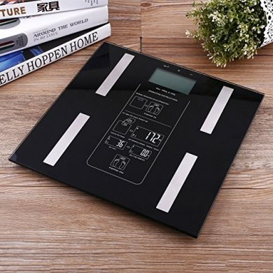 Digital Electronic Body Fat Scale Measures Body Fat & & Bmi Led