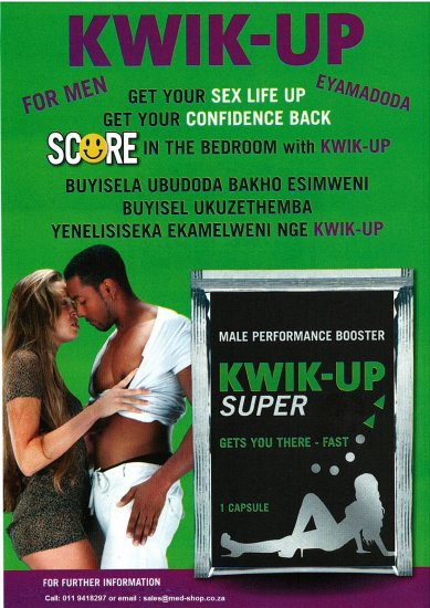 Kwik Up Super 1 Capsule Pack - Click Image to Close