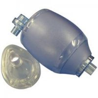 RESUSCITATOR - PVC - COMPLETE WITH MASKS RESUSCITATOR - child