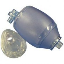 RESUSCITATOR - PVC - COMPLETE WITH MASKS RESUSCITATOR - infant