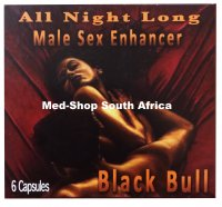 Black Bull Male Sex Enhancement Capsule 6/Capsules