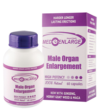 MEDeENLARGE Male Organ Enlargement 60 capsules